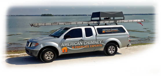 Tampa Bay Chimney & Fireplace Service Truck