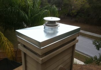 CHIMNEY CAPS, COVERS & TOP SEALING DAMPERS