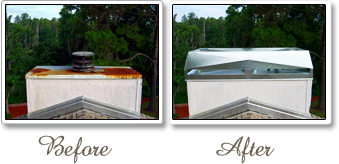 Chimney Caps Chimney Covers Before & After